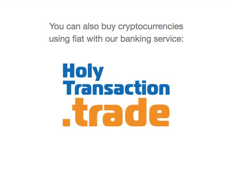 Servizio trade di Holytransaction, Giacomo Casolo