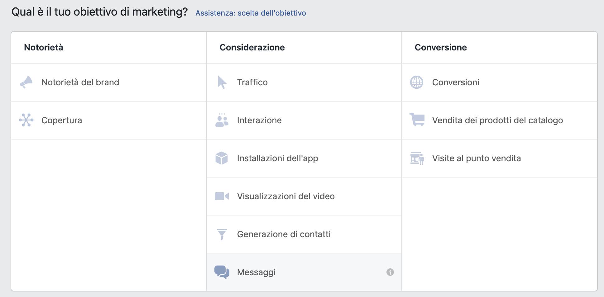 Campagna Facebook ottimizzazione formato campagna, Giacomo Casolo